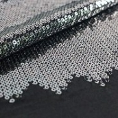 fashion sequin embroidered lace polyester fabric
